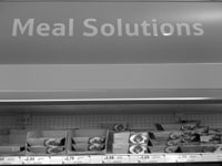 Is there a 'meal problem'?